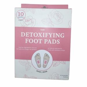 Lindo Detoxifying Foot Pads 10 patches 5 Pairs